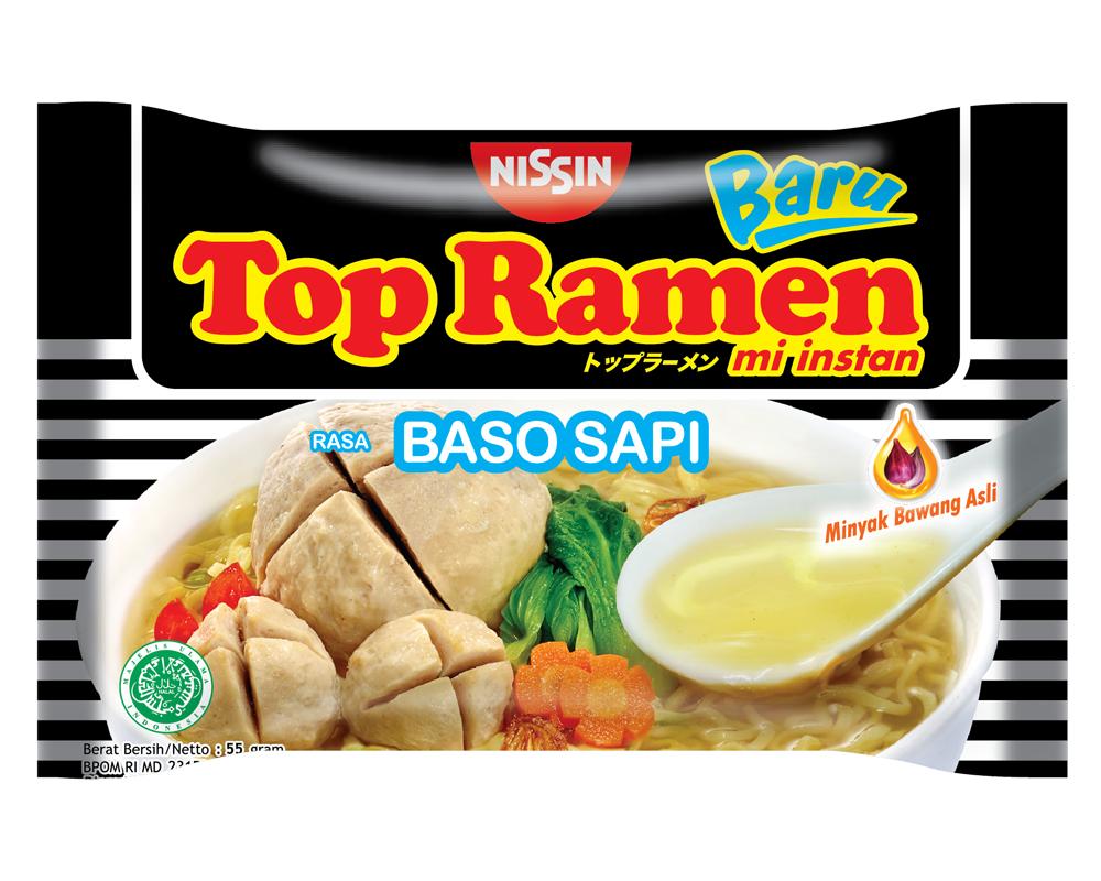Top Ramen Baru Rasa Baso Sapi