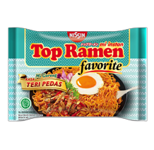 Top Ramen Favorite Fried Noodle – Spicy Anchovy Flavor