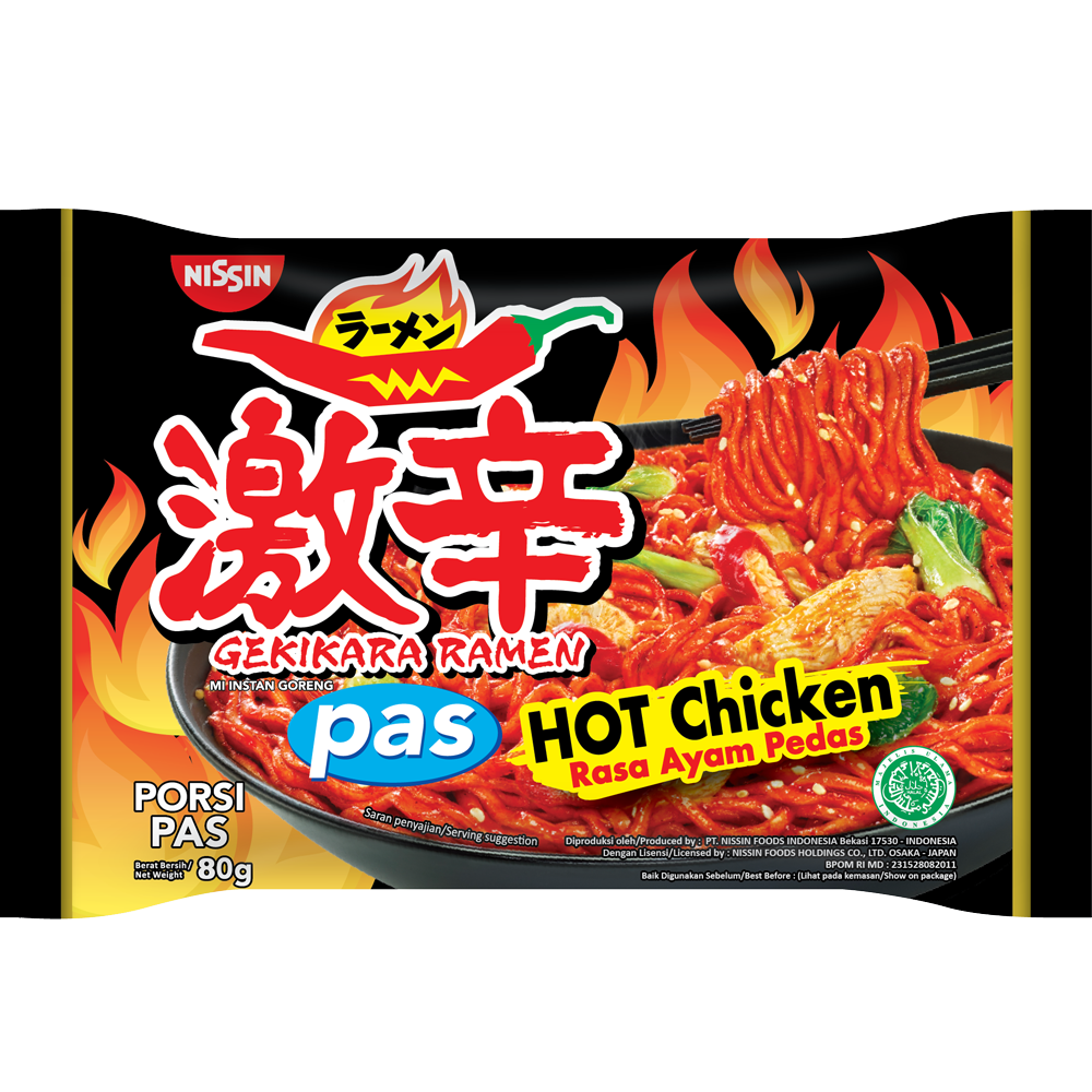 Gekikara Ramen PAS Rasa Hot Chicken