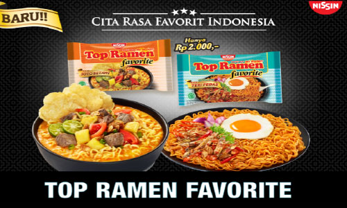 Top Ramen Favorite Launching