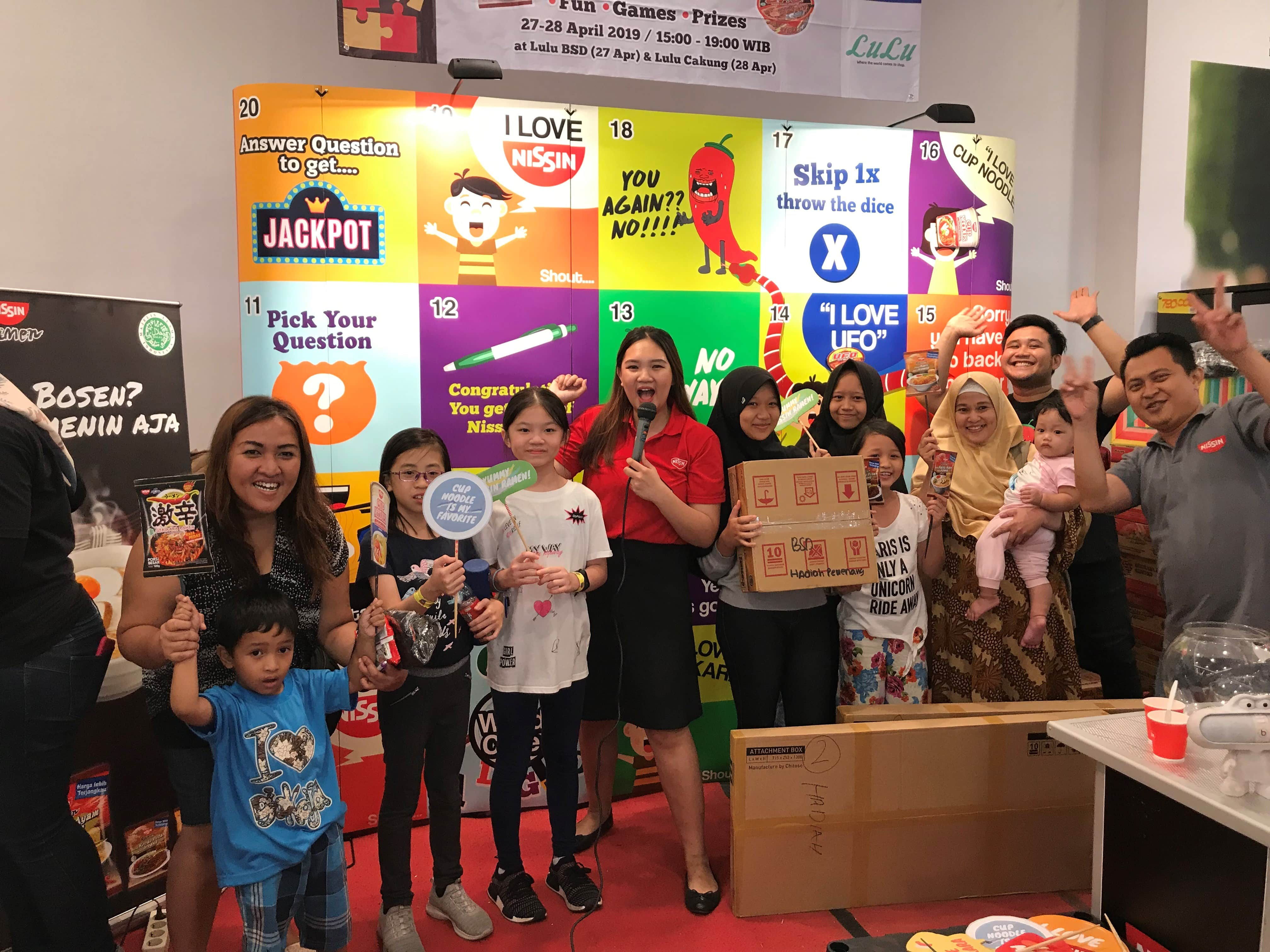Nissin Playground at Lulu BSD and Lulu Cakung